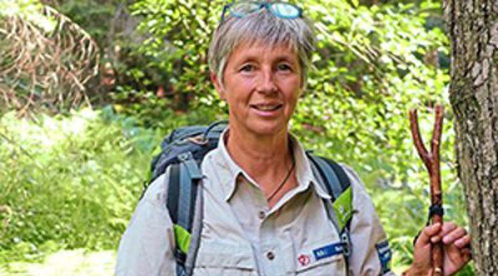 Christine Schopf ist mit Leib und Seele Rangerin. Foto: Ehrnthaler